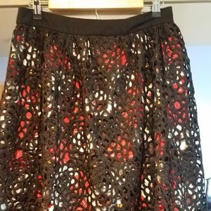 DE Collection Downeast M Crocheted Lace Skirt